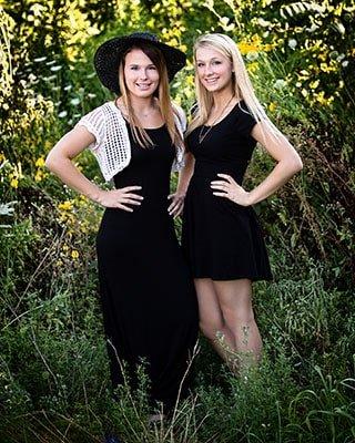Huntley Crystal Lake Senior Photos Twins nFocus