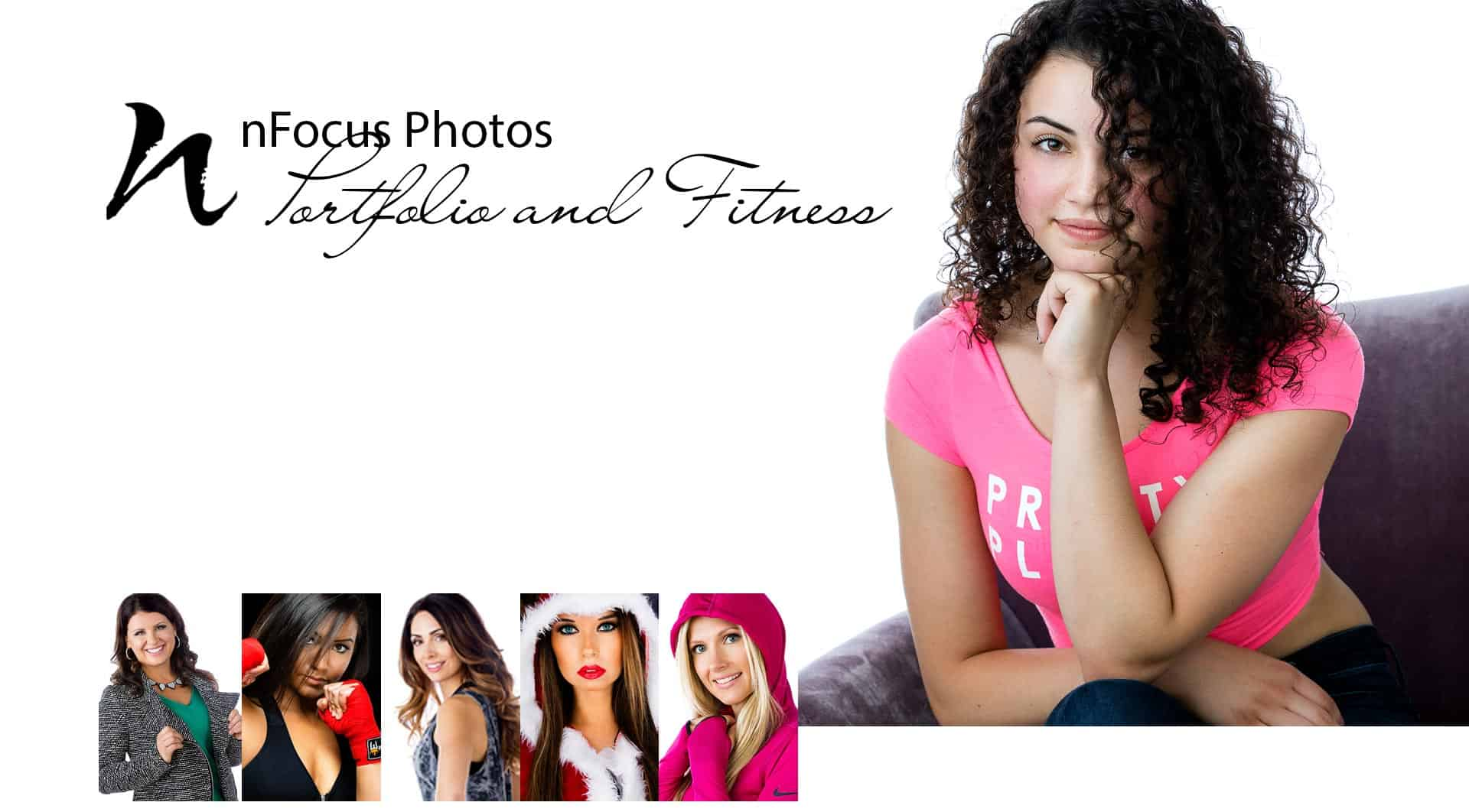 Crystal Lake Fitness Portfolio Modeling Photographer