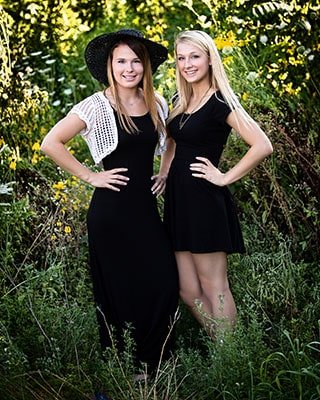 Huntley Crystal Lake Senior Photos Twins nFocus