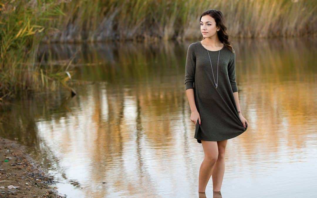Emma's senior photos in Crystal Lake, Illinois