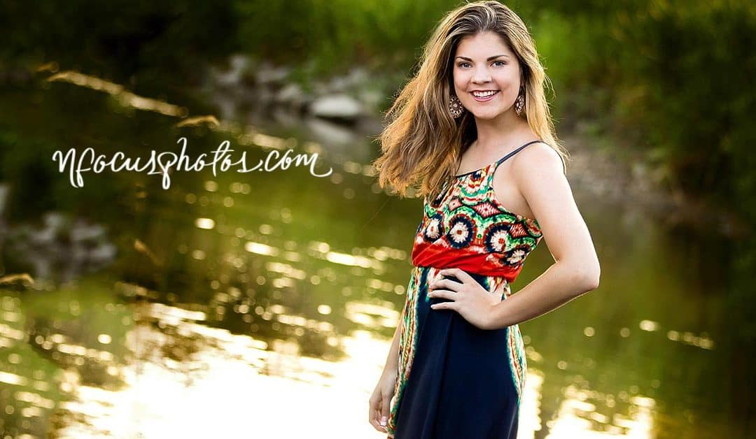Our Senior Photo Shoot with Talia in Algonquin, Illinois