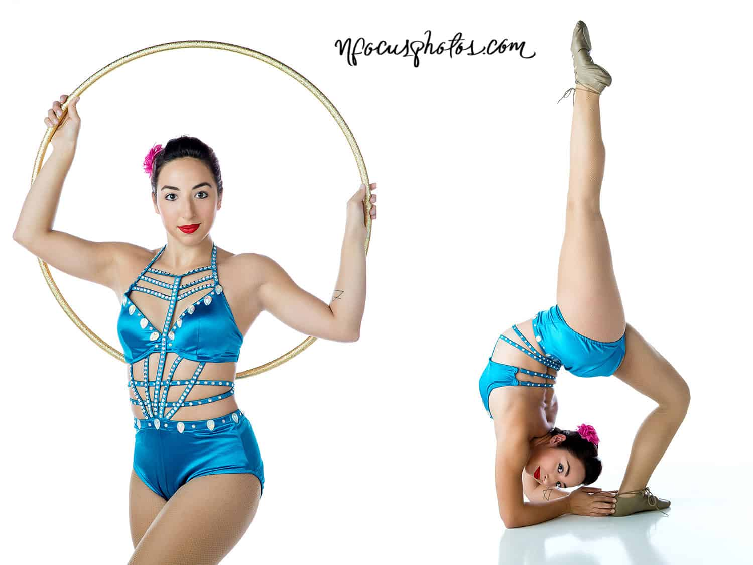 nFocus Photos Crystal Lake Photographer Circus Performer Acting Headshot Portfolio