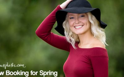Now Booking Class of 2017 Spring Senior Photo Sessions
