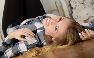 Senior Photos and our interview with Haley from Richmond Burton