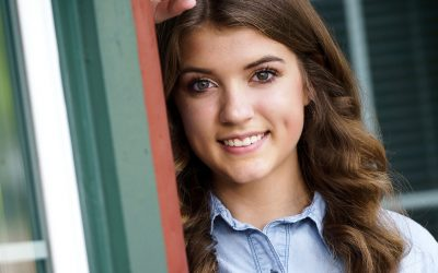 High School Senior Photo Shoot with Allison from Cary Grove High School