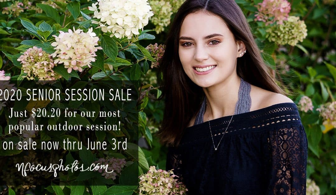 CLASS OF 2020 SENIOR PHOTOS – ONE WEEK SALE